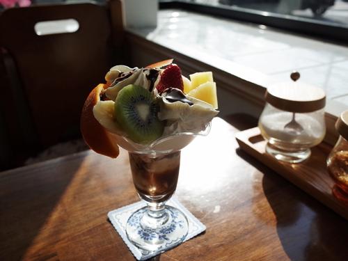 上福岡・ぼっけ・チョコレートパフェ