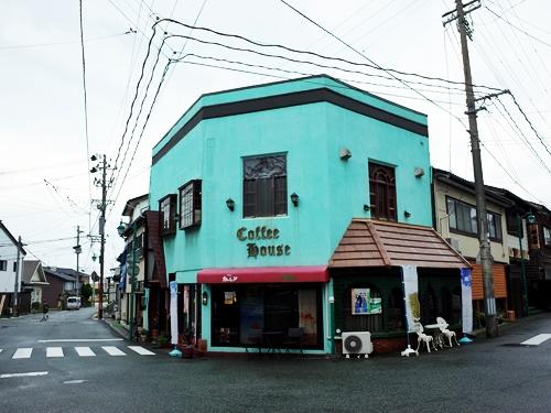 佐渡・相川・カフェ・ド・カトレア1