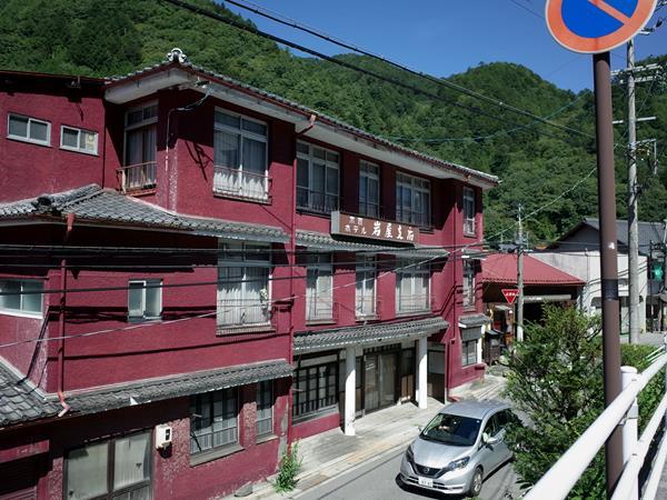 木曽福島・木曽福島駅前商店街・木曽ホテル岩屋支店
