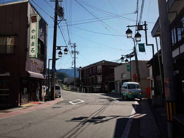 木曽福島・八沢商店街