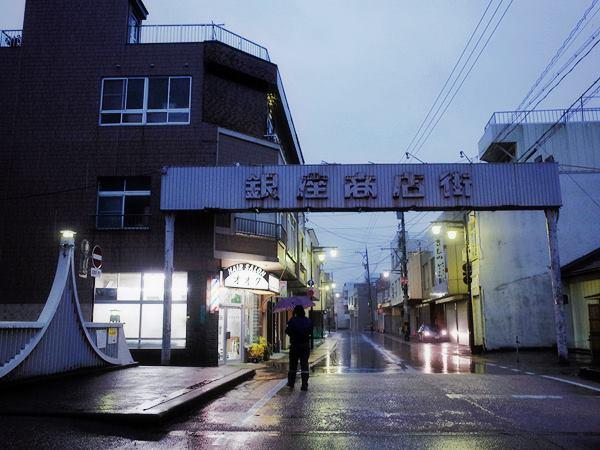 魚津銀座商店街1
