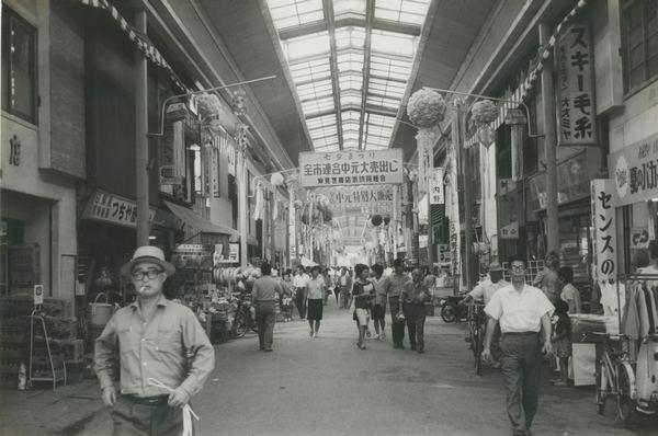 昭和37年頃の仲見世商店街2