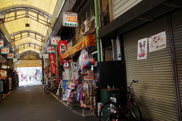 西天下茶屋・銀座商店街15