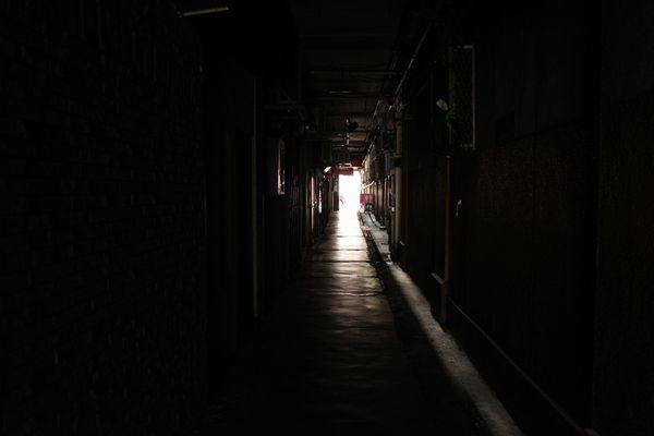 甲府・地下バー街10