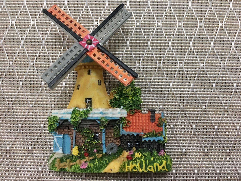オランダ、風車のマグネット