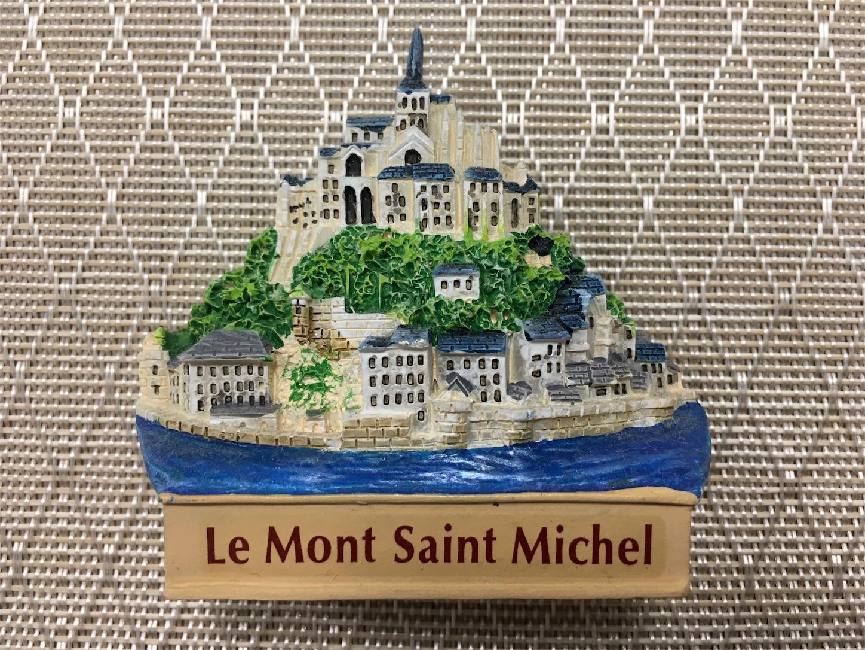 フランス・モンサンミシェルのマグネット
