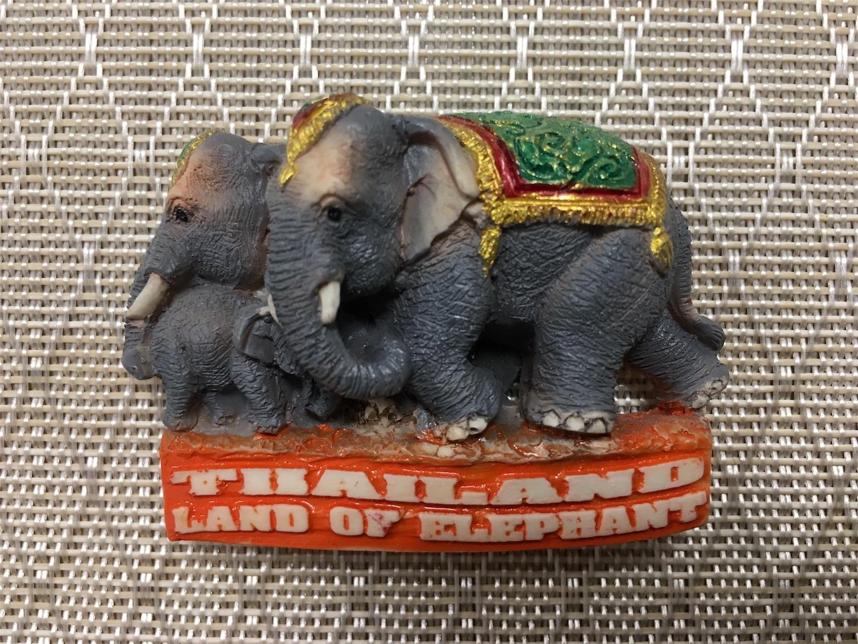 タイ・象のマグネット