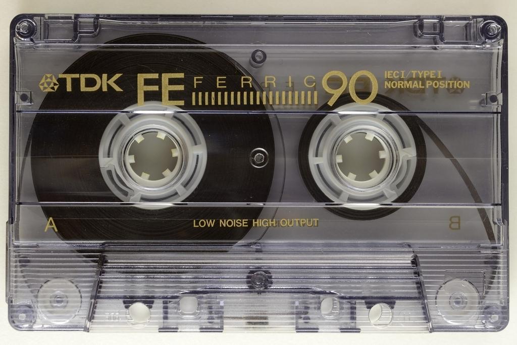音楽カセット