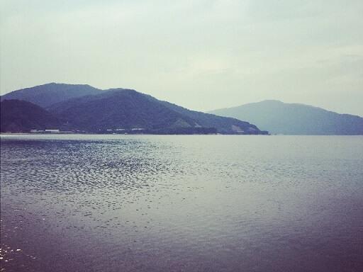 気比の松原から見る日本海