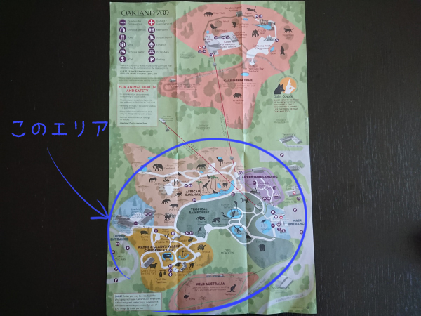 動物園マップ