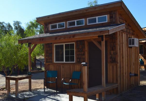 素泊まり用の小屋