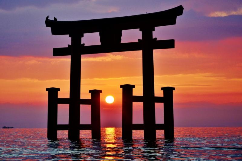 京都新聞写真コンテスト 神々しく