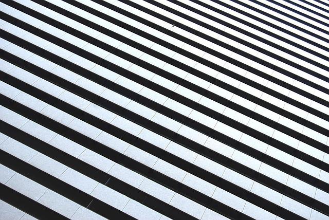 白黒のパターン画像