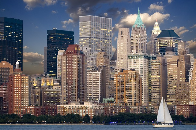 ニューヨーク・マンハッタンのビル