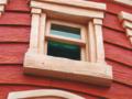 消防署の窓