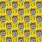 カラフルバナナチョコ 1000x1000pix size