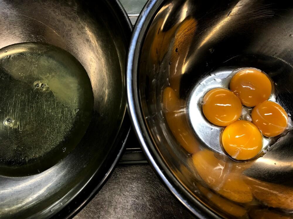 シフォンケーキ 卵