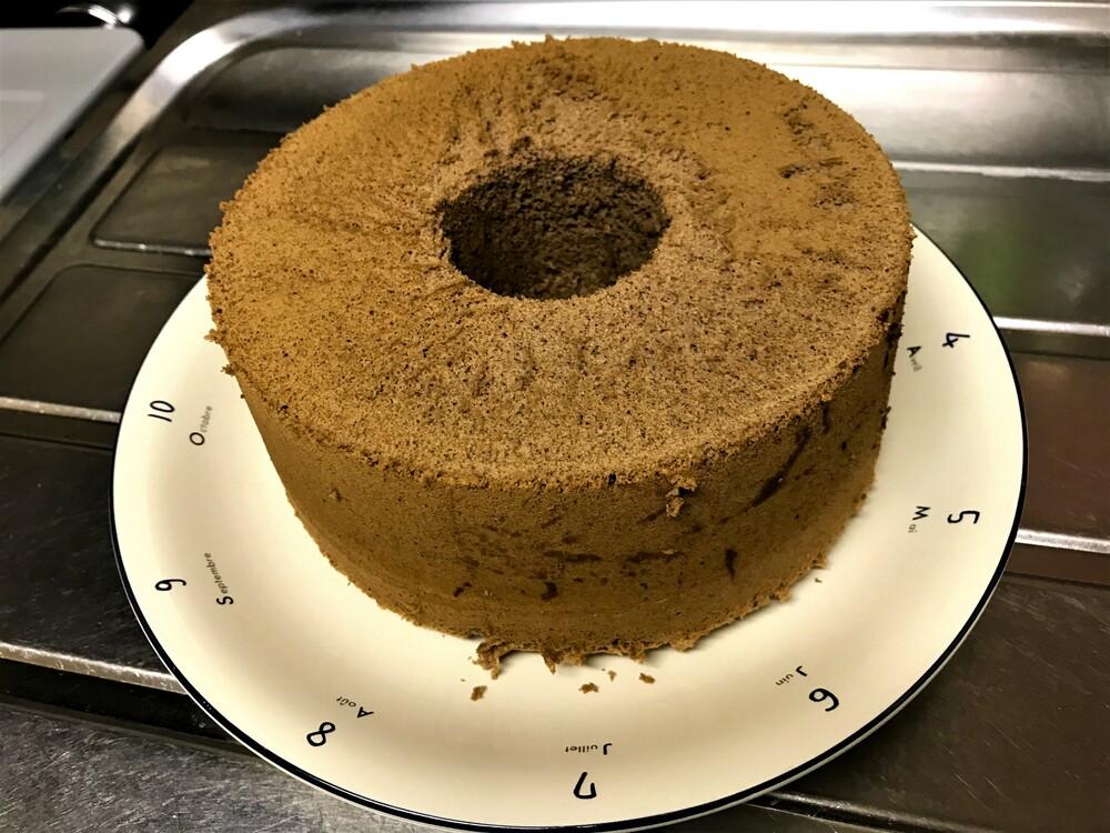 シフォンケーキ 型抜き