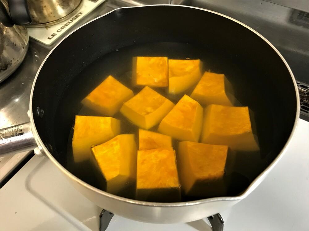 カボチャ 煮物 鍋