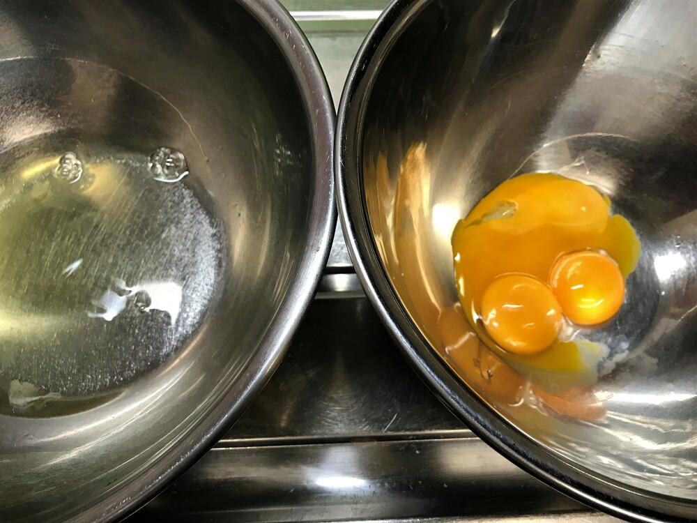 プリン 卵黄