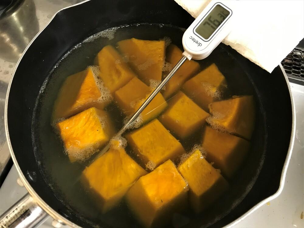 カボチャの煮物 煮崩れ防止