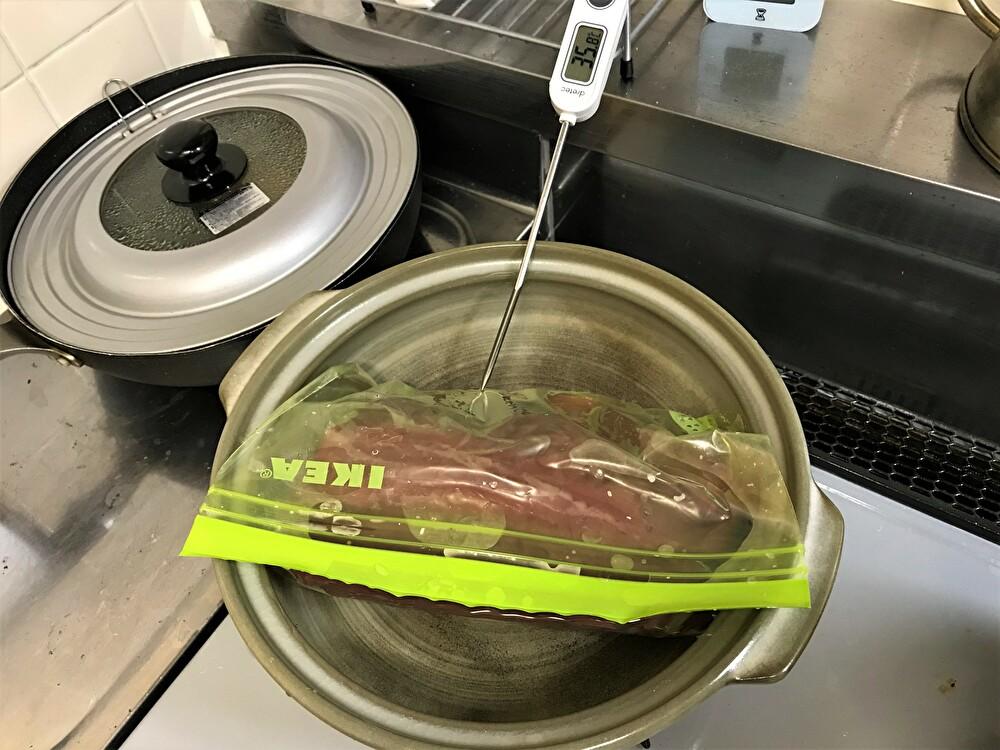 ローストビーフ 土鍋