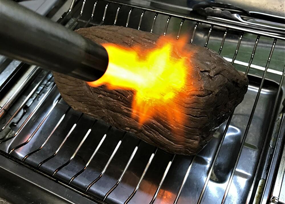 ローストビーフ 炙る