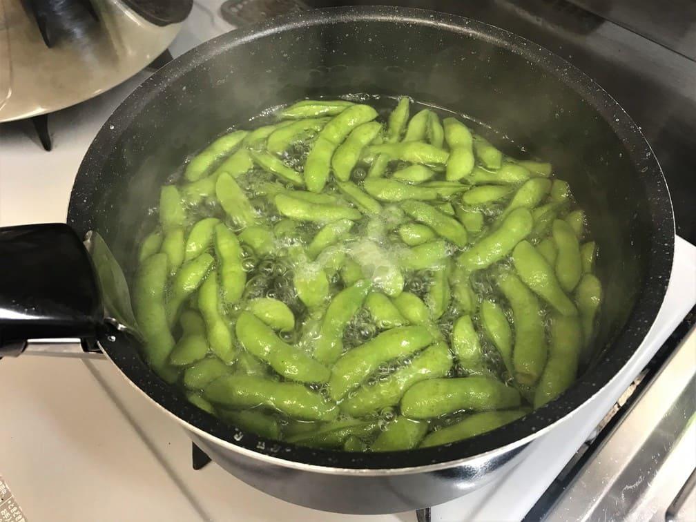 ポテサラ 枝豆