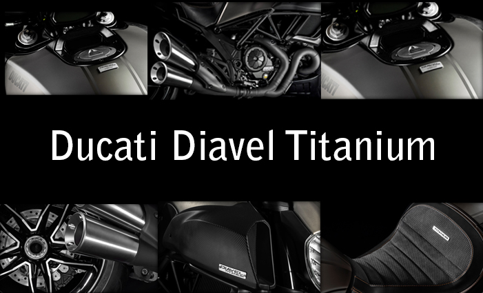 ducati diavel titanium accessories