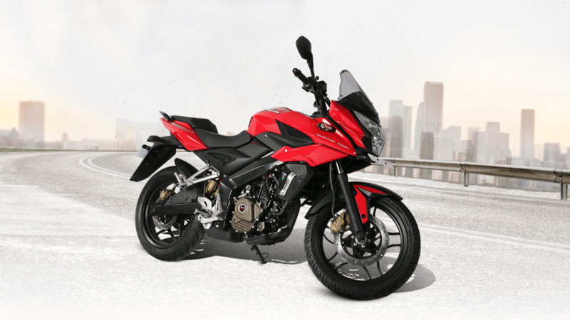 Bajaj Pulsar AS200 Red Color