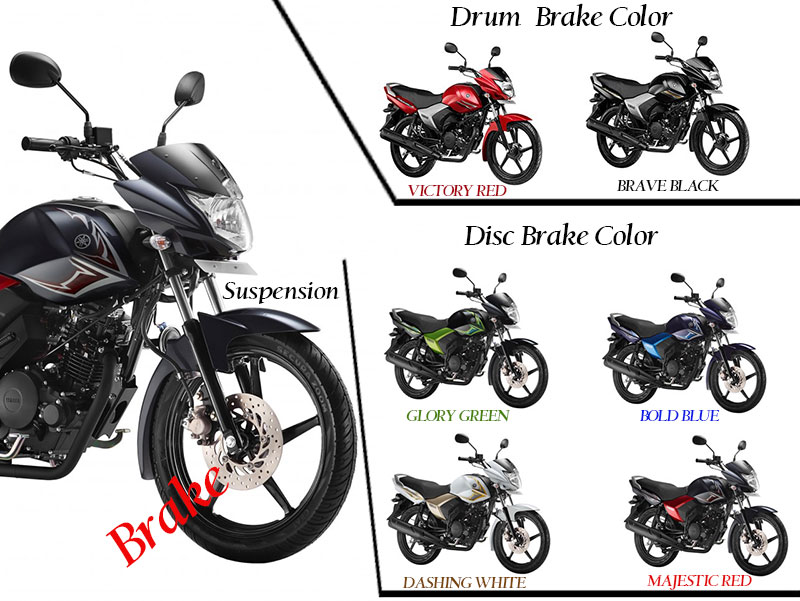 Yamaha Saluto Colors