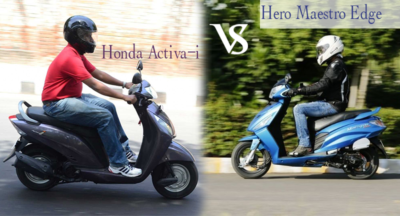 Maestro Edge vs Activa i Ride and Handling