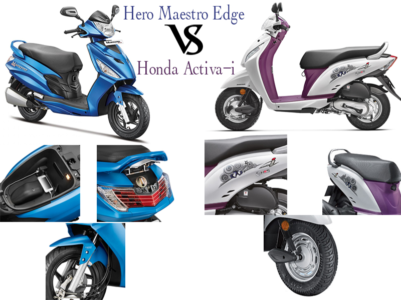 Maestro Edge vs Activa i Features