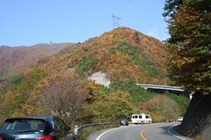 会津西街道への道