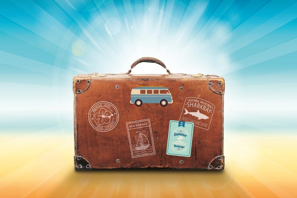 旅行用のバッゲージ