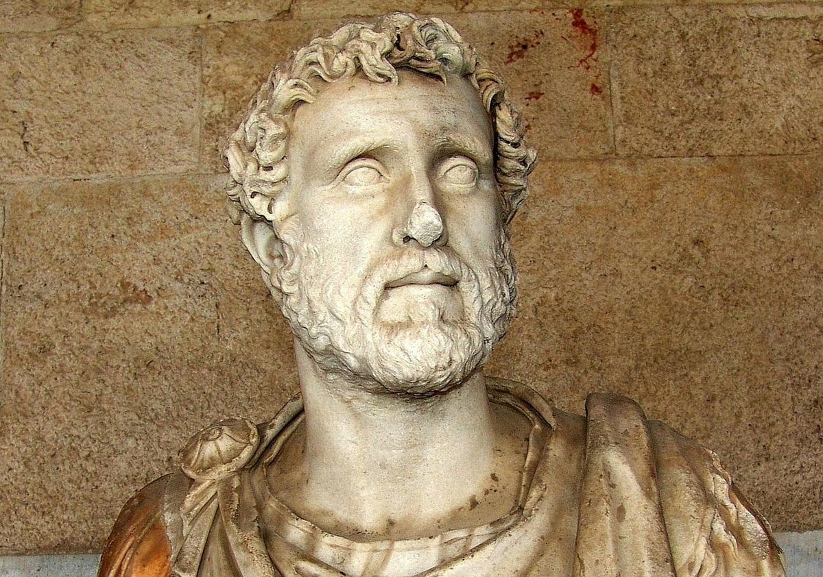 ローマ時代の人物彫刻