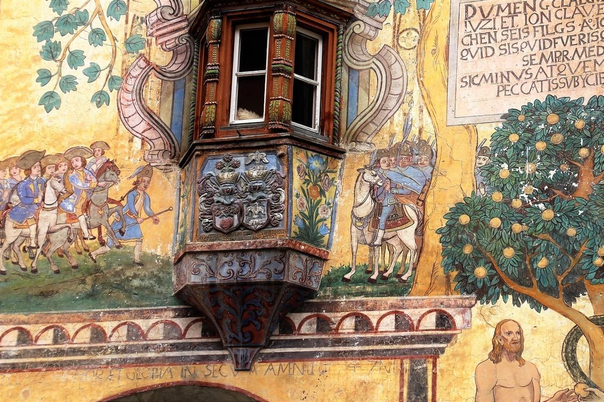中世のフレスコ画