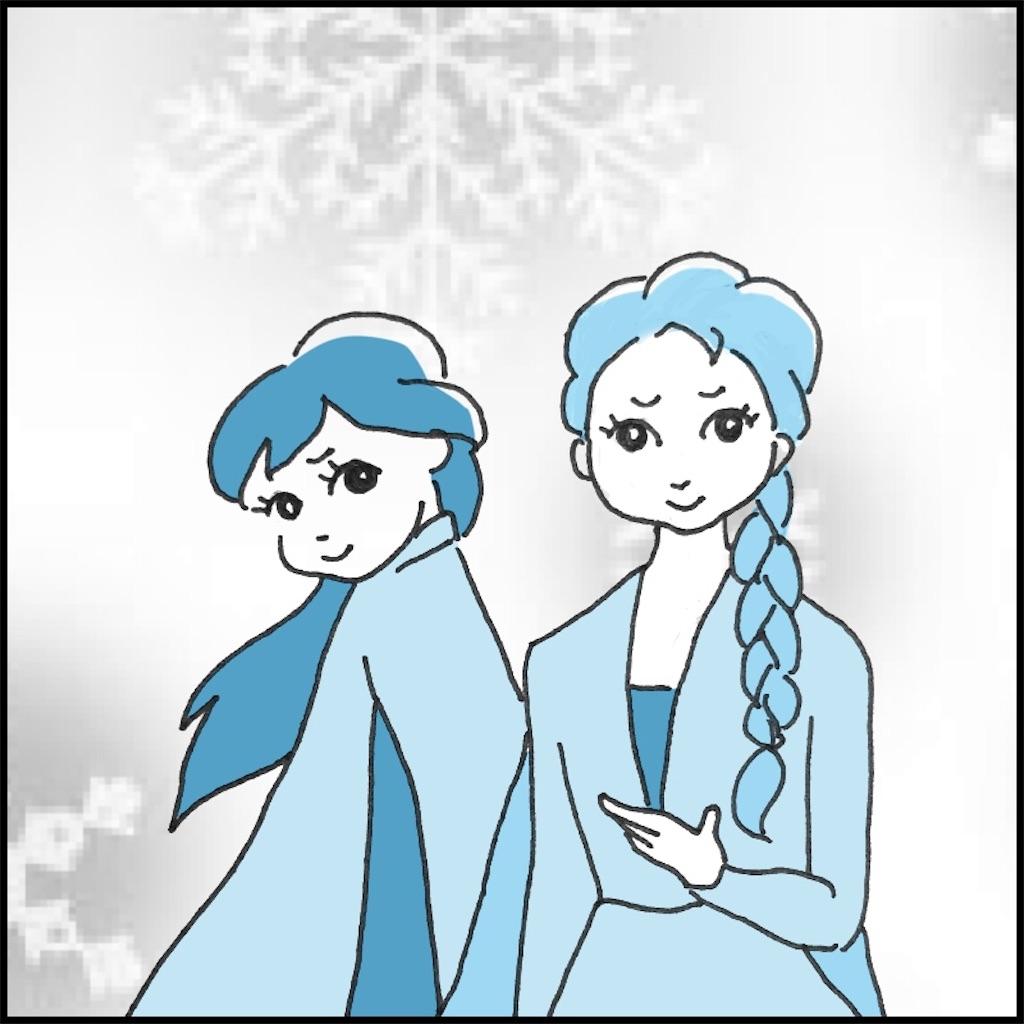 アナと雪の女王のイラスト