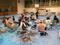 倉敷市災害ボランティアセンターのミーテング