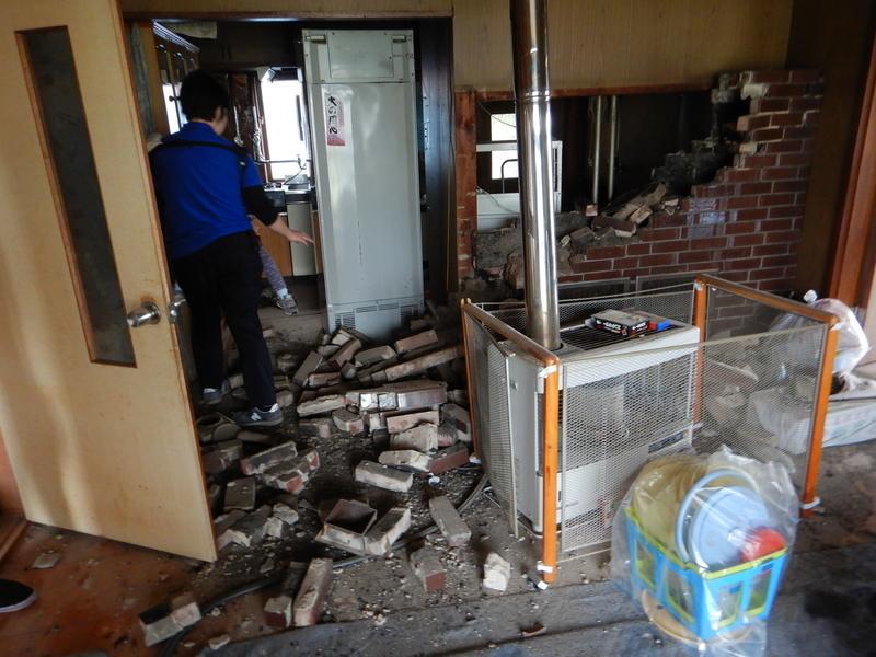 家屋内の被害