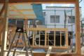 吉良町のコートハウス 外玄関を見る 名古屋設計事務所