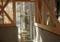 吉良町のコートハウス 浴室にも光 名古屋設計事務所