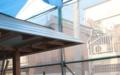 吉良町のコートハウス 玄関庇納まり 名古屋設計事務所
