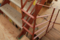 高座台のツインハウス 階段手摺 名古屋設計事務所