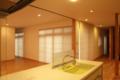 F邸改修工事 カーテン取り付け1 名古屋設計事務所