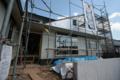 高座台のツインハウス 米ヒバ下地サイディング貼 名古屋設計事務所