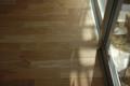 吉良町のコートハウス フローリングナラ材 名古屋設計事務所