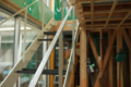 階段の塗装が終わりました。 名古屋設計事務所