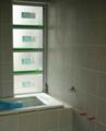 浴室タイル グレイッシュ