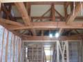 丸太梁のある家4 リフォーム 名古屋 設計事務所